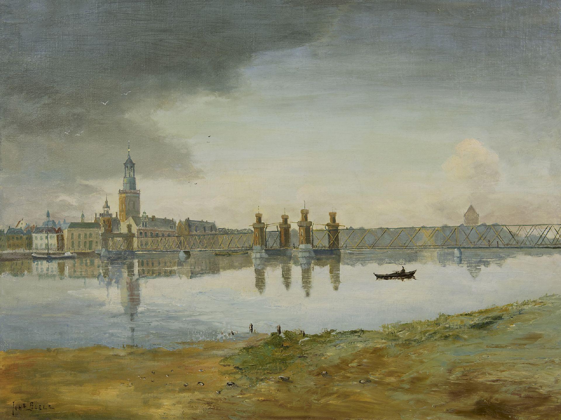 Spiksplinternieuw Boele J. | Johannes Boele | Schilderijen te koop aangeboden | Het KI-67