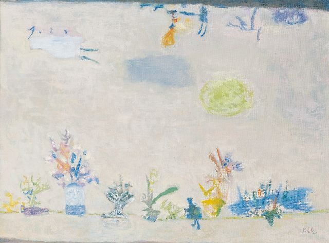 Roëde J.  | Far and still close, oil on canvas 44.9 x 59.9 cm, signed l.r. and painted circa 1956