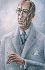 Lubbers A. - Portrait of Piet Mondriaan, oil on canvas 81.3 x 54.7 cm , signed l.r. and dated 1931