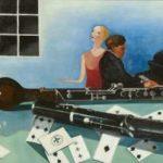 Toorop A.C.P. - Stilleven met hobo en fluit, olieverf op doek 50,6 x 60,2 cm, gesigneerd r.o. en verso gedateerd 1927