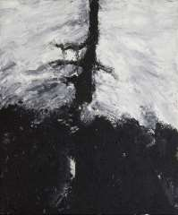 Armando - Der Baum, olie op doek 60 x 50 cm , gesigneerd verso op spieraam and gedateerd op spieraam