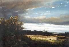 Meiners C.H. - Gelders landschap, olie op paneel 34,7 x 50,2 cm , gesigneerd l.o. en gedateerd 1872