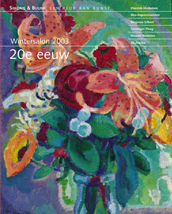 Wintersalon 20e eeuw-Najaar 2003