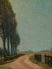 Gestel L. - A summer day near Montfoort, oil on canvas 70.6 x 55.5 cm , signed l.r. and dated '09