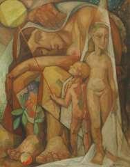 Eshuijs H.J. - Vruchtbaarheid, olieverf op doek 92 x 72 cm, gesigneerd r.o. en te dateren jaren '50