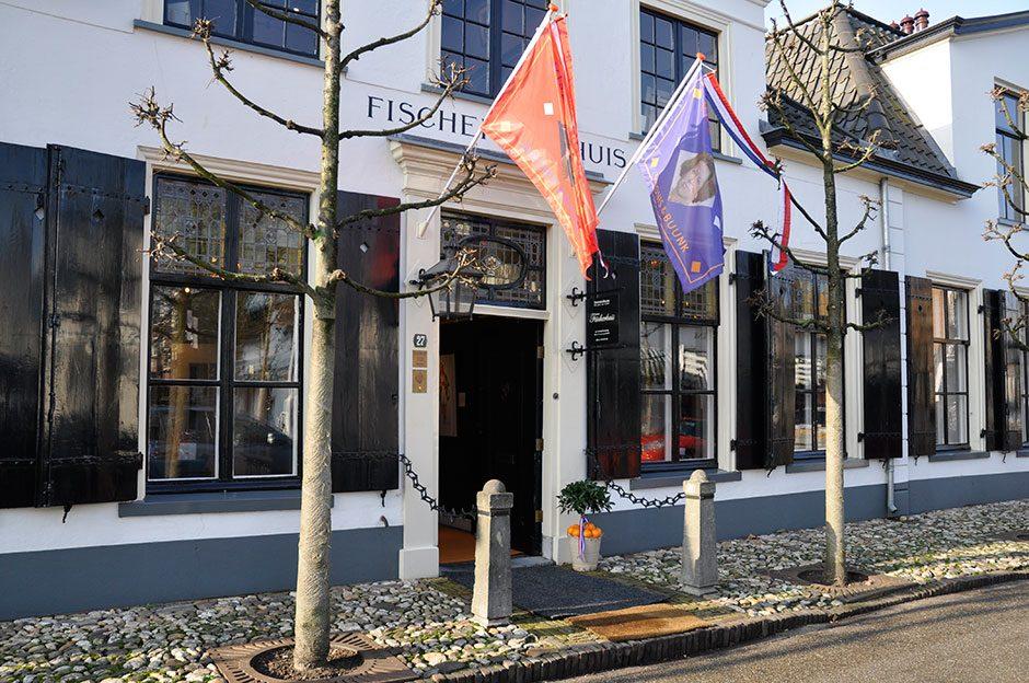 Zaterdag 28 januari 2012. Vlag en wimpel wordt feestelijk geopend.