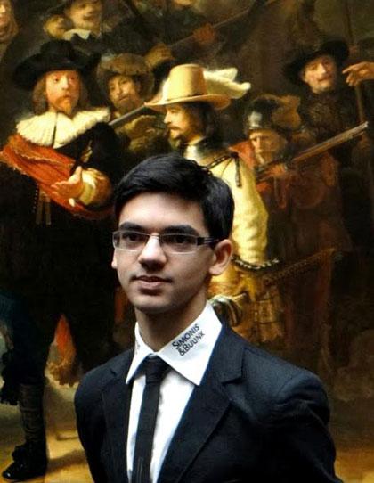 Anish Giri voor de Nachtwacht