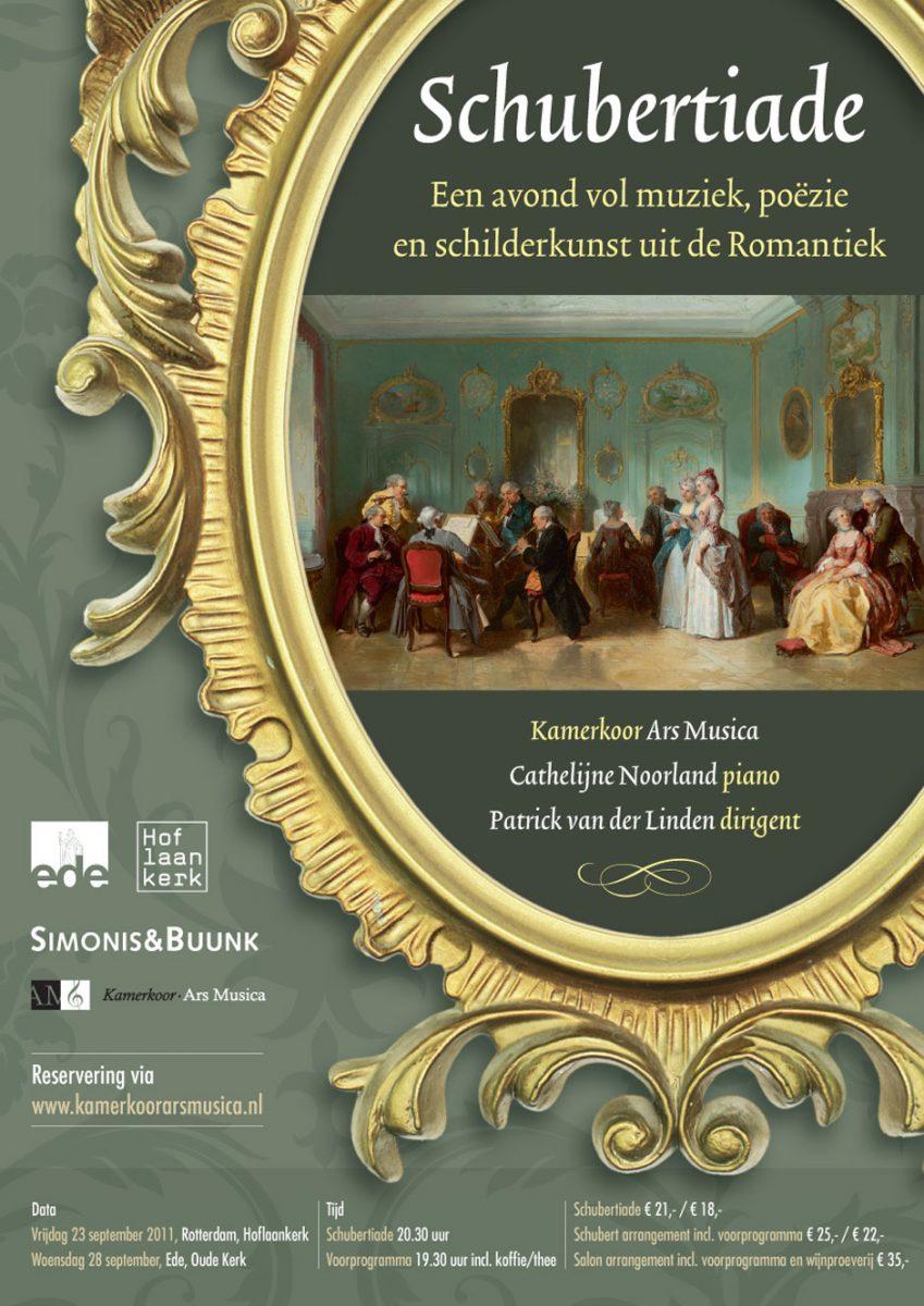 Poster Schubertiade, 2011