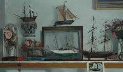 Berserik H. - Plank in atelier, acryl op doek 65,2 x 107 cm , gesigneerd r.b. en gedateerd 1984