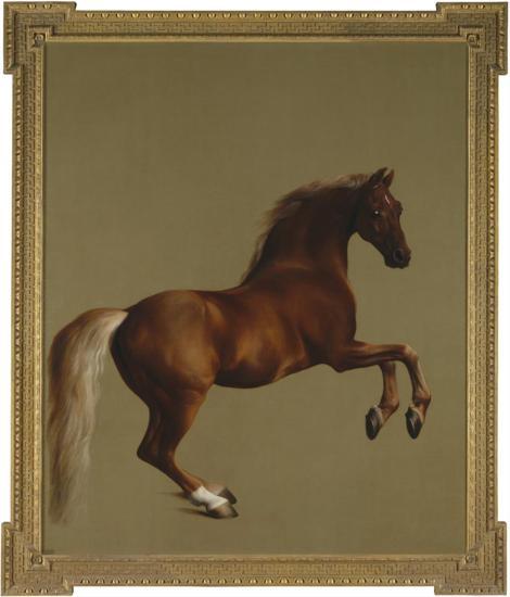 George Stubbs,Wistlejacket,1762, National Gallery, Londen