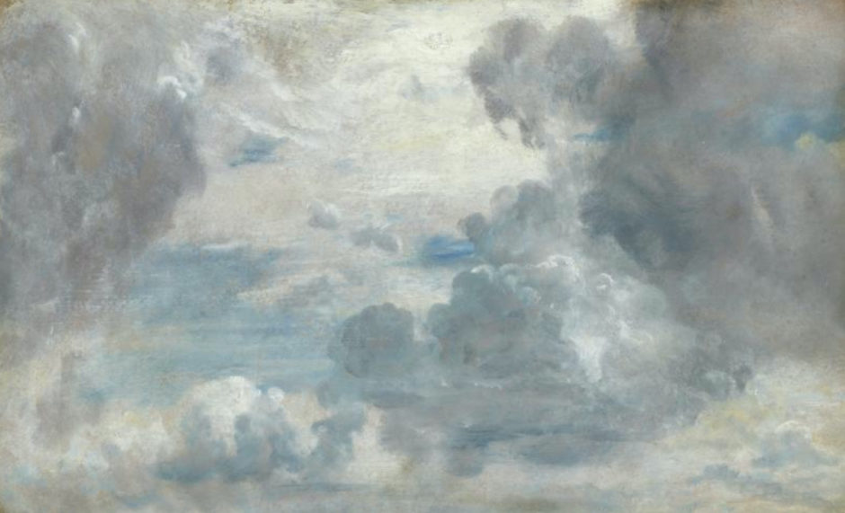 Painting of John Constable, Study of clouds
