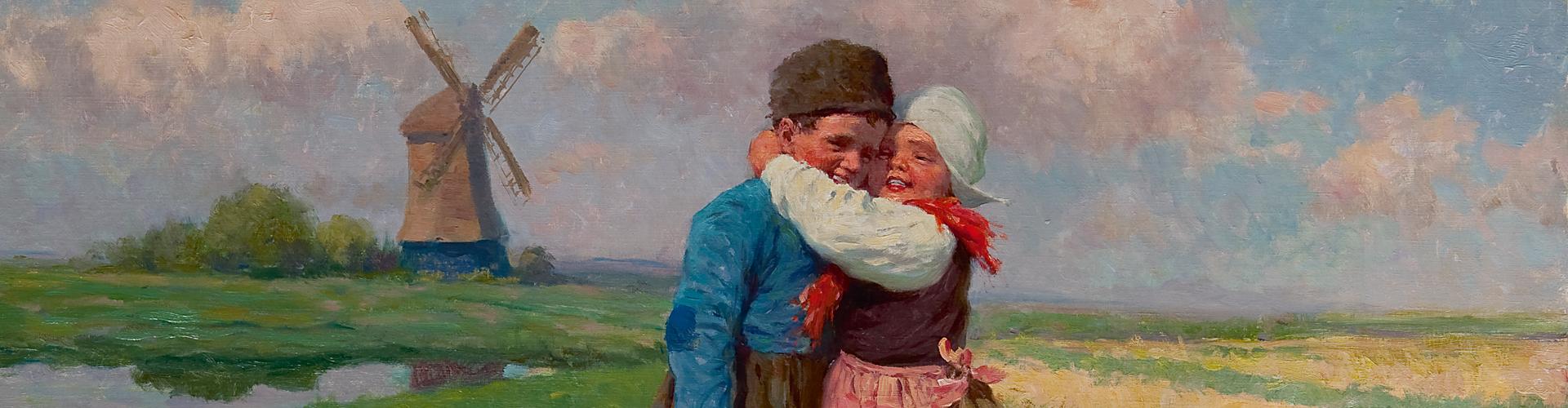Liefde schilderij