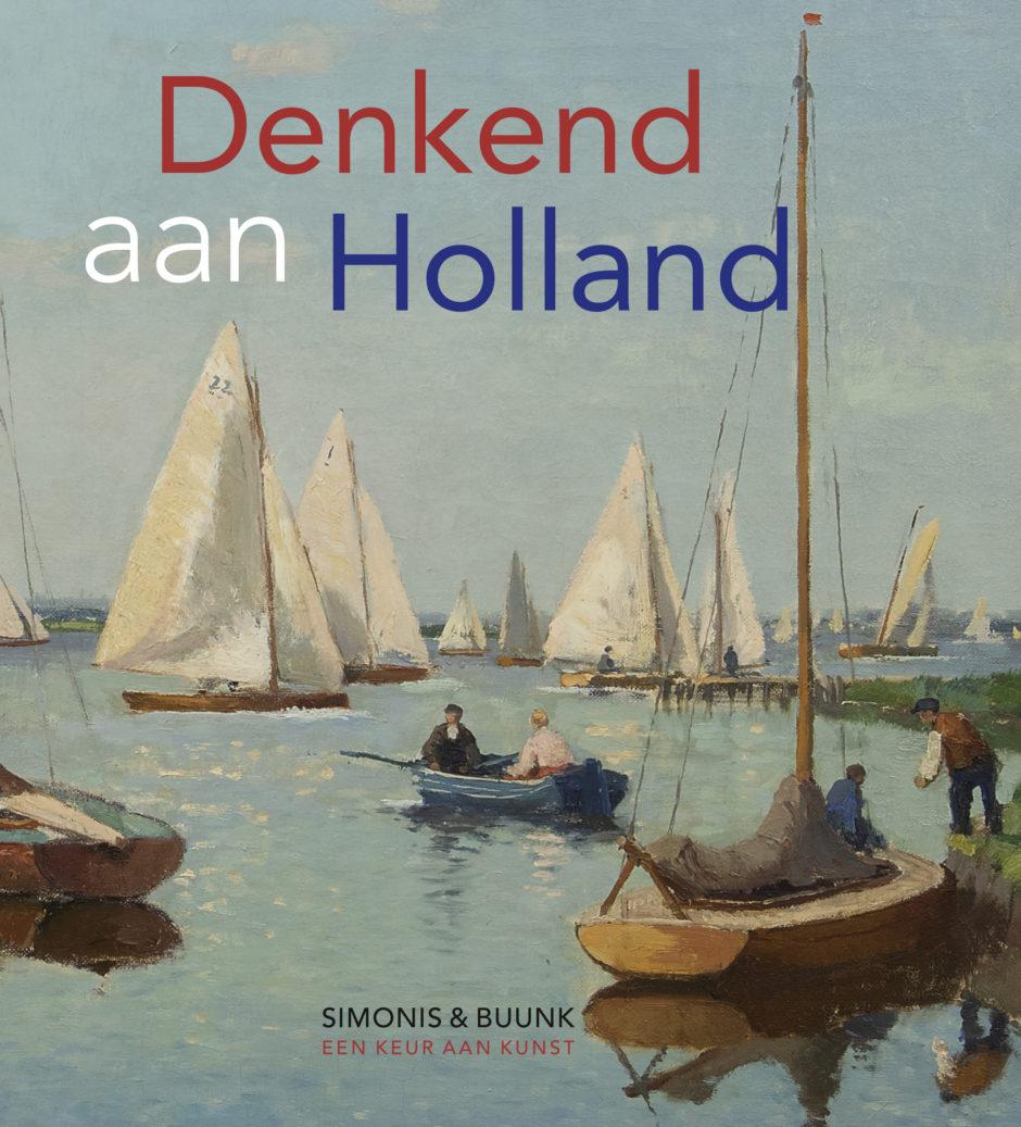 Catalogus Voorkant Denkend aan Holland Verkooptentoonstelling 2019