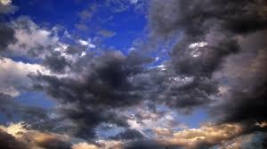 Stratocumulus wolkenlucht