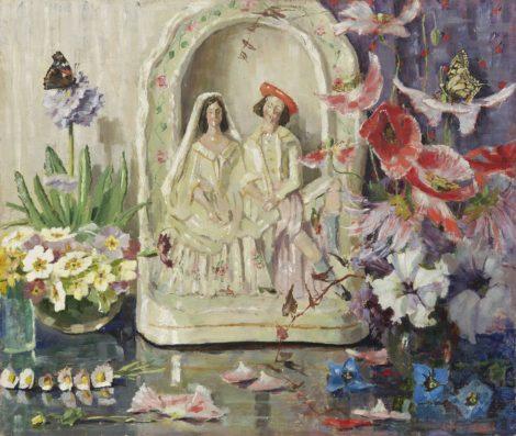 Wit met een geel hartje - Kunsthandel Simonis en Buunk, Ede