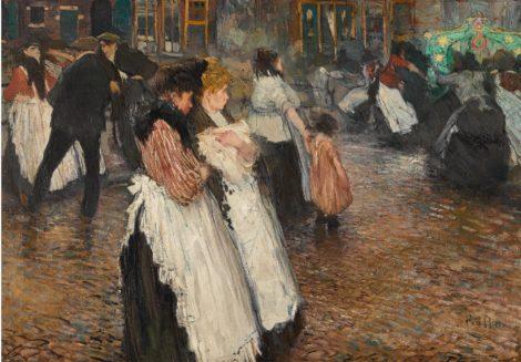 Dansen in de Amsterdamse Jordaan - Kunsthandel Simonis en Buunk, Ede