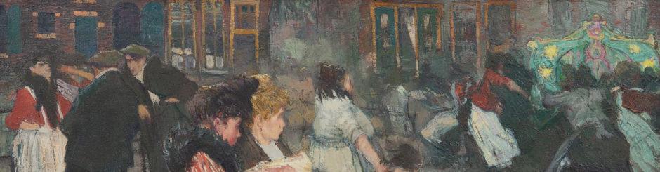 Piet van der Hem schilderij te koop