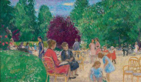 Een dag in het park - Kunsthandel Simonis en Buunk, Ede