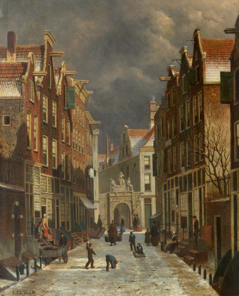 Hartje Amsterdam in Ede - Kunsthandel Simonis en Buunk, Ede