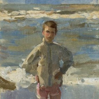 Isaac Israels Strandgezicht Portret Schilderijen kopen