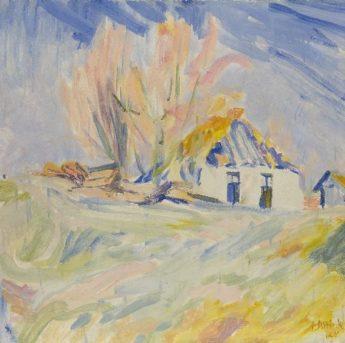 Jan Altink Groninger Ploeg Schilderijen kopen