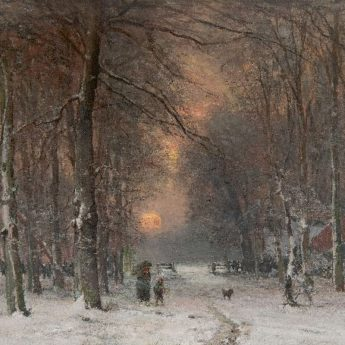 Louis Apol Winter Schilderijen kopen